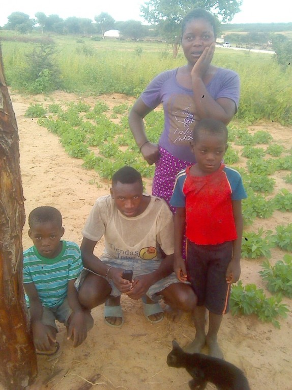 0 HalleluYah Scriptures Pictures of orphans and their care-taker in Namibia 1