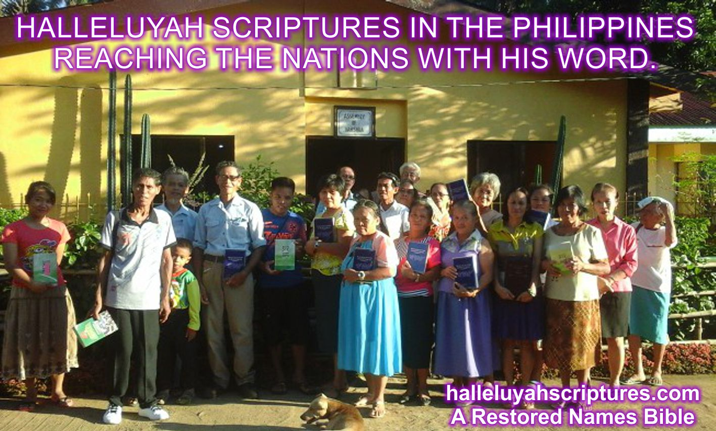 + HalleluYah Scriptures Review + Restored Name Bible + Best Bible + Cepher + The Scriptures + Hebrew Roots bible + Sacared Name Bible +Phillipians Group 3a